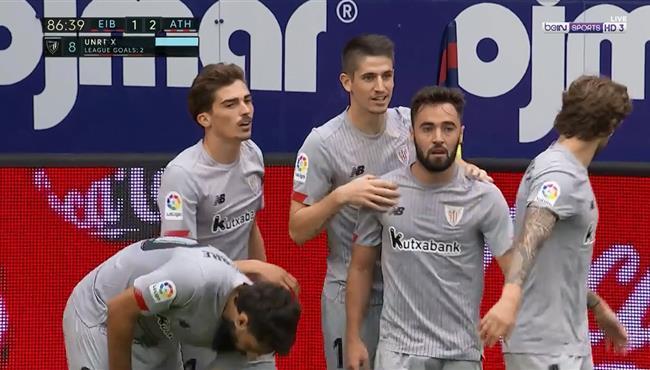 اهداف مباراة اتلتيك بلباو وايبار (2-1) الدوري الاسباني