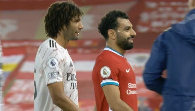 ملخص لمسات محمد النني في مباراة ليفربول وارسنال