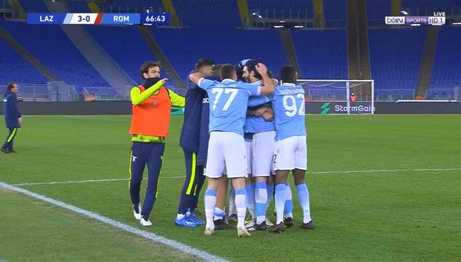 اهداف مباراة لاتسيو وروما (3-0) الدوري الايطالي