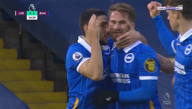 هدف فوز برايتون علي ليدز يونايتد (1-0) الدوري الانجليزي