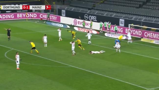 اهداف مباراة بوروسيا دورتموند وماينز (1-1) الدوري الالماني