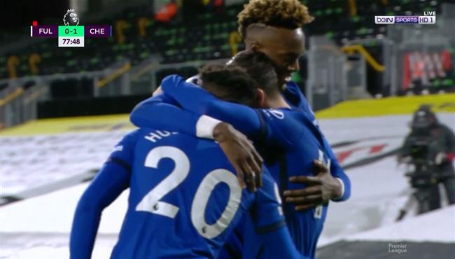 هدف فوز تشيلسي علي فولهام (1-0) الدوري الانجليزي