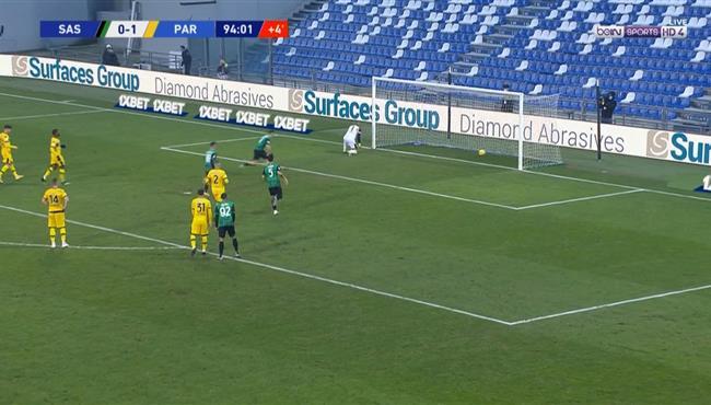 اهداف مباراة ساسولو وبارما (1-1) الدوري الايطالي