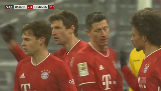 اهداف مباراة بايرن ميونخ وفرايبورج (2-1) الدوري الالماني