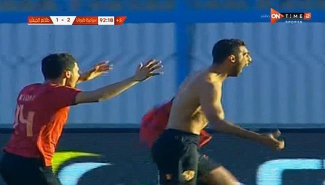 اهداف مباراة سيراميكا كليوباترا وطلائع الجيش (2-1) الدوري المصري