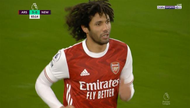 ملخص لمسات محمد النني في مباراة ارسنال ونيوكاسل