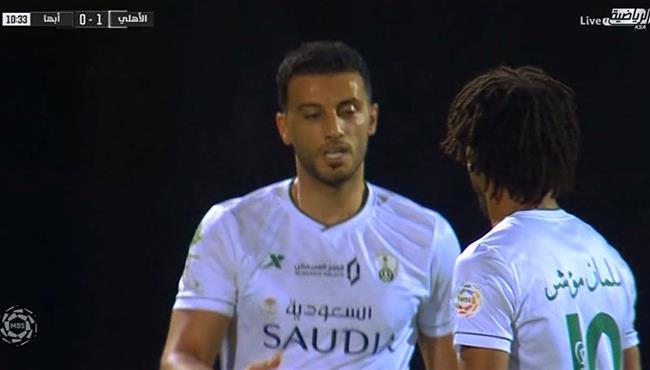 هدف الاتحاد الاول فى مرمي الشباب (1-0) الدوري السعودي - بطولات
