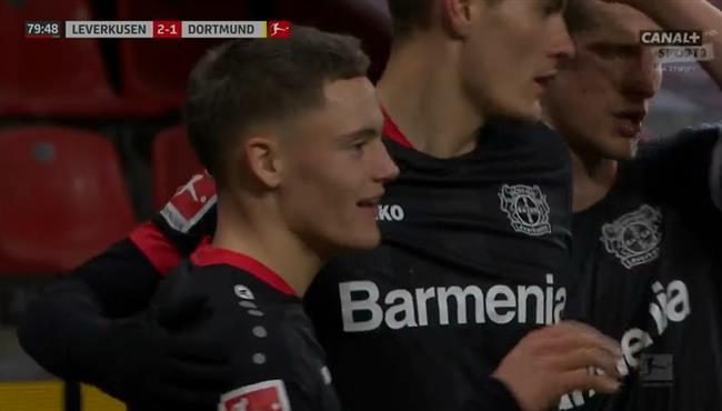 اهداف مباراة باير ليفركوزن وبوروسيا دورتموند (2-1) الدوري الالماني