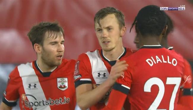 اهداف مباراة ساوثهامبتون وشروسبري تاون (2-0) كأس الاتحاد الانجليزي