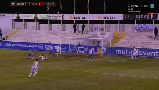 حارس الكويانو والمدافع يحرمان ريال مدريد من تسجيل هدف الفوز في الوقت القاتل