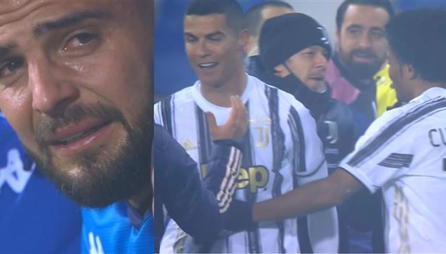 حسرة وبكاء من لاعبي نابولي وفرحة لاعبي يوفنتوس بعد الفوز بكأس السوبر الايطالي