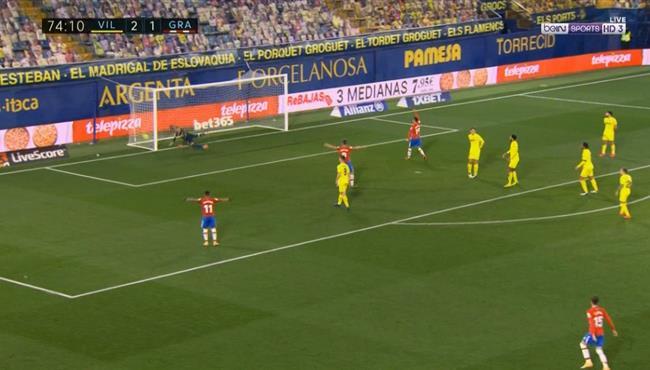 اهداف مباراة فياريال وغرناطه (2-2) الدوري الاسباني