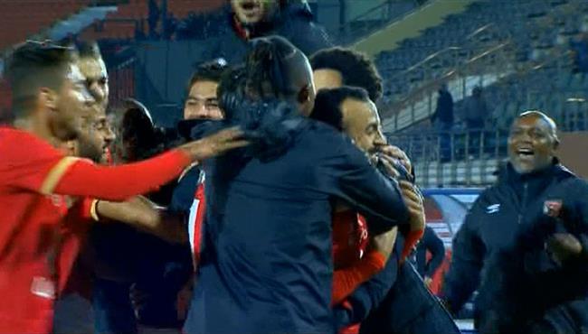 اهداف مباراة الاهلي والمقاولون العرب (3-2) الدوري المصري