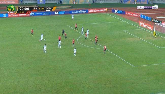 هدف عالمي في مباراة ليبيا والكونغو الديمقراطية كاس امم افريقيا للمحليين