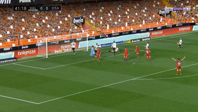 اهداف مباراة فالنسيا واوساسونا (1-1) الدوري الاسباني