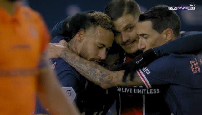 اهداف مباراة باريس سان جيرمان ومونبلييه (4-0) الدوري الفرنسي