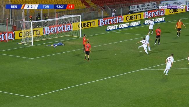 اهداف مباراة تورينو وبنيفنتو (2-2) الدوري الايطالي
