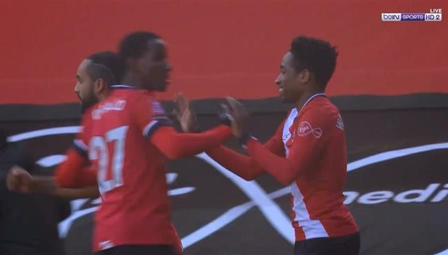 هدف ساوثهامبتون الاول فى مرمي ارسنال (1-0) كاس الاتحاد الانجليزي
