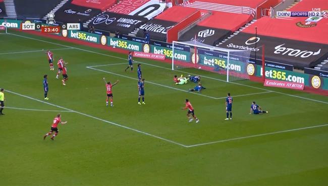 هدف فوز ساوثهامبتون علي ارسنال (1-0) كاس الاتحاد الانجليزي