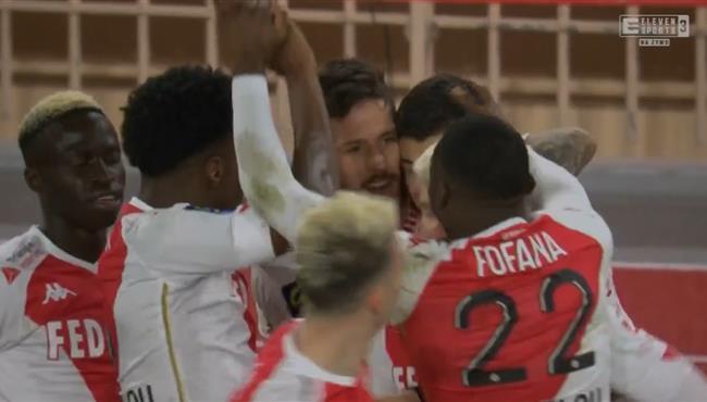 اهداف مباراة موناكو ومارسيليا (3-1) الدوري الفرنسي