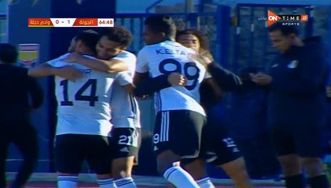 اهداف مباراة الجونة ووادي دجلة (2-0) الدوري المصري