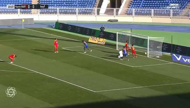 اهداف مباراة ابها والقادسية (2-2) الدوري السعودي