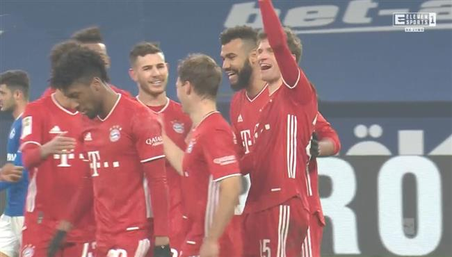 اهداف مباراة بايرن ميونخ وشالكه (4-0) الدوري الالماني