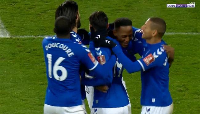 اهداف مباراة ايفرتون وشيفيلد (3-0) كاس الاتحاد الانجليزي