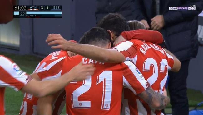 اهداف مباراة اتلتيك بلباو وخيتافي (5-1) الدوري الاسباني
