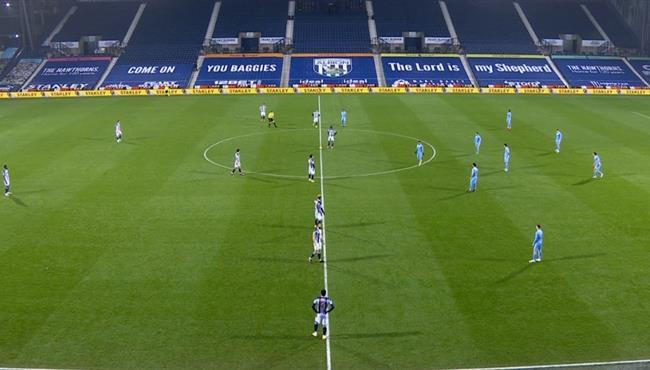 ملخص مباراة مانشستر سيتي ووست بروميتش (5-0) الدوري الانجليزي