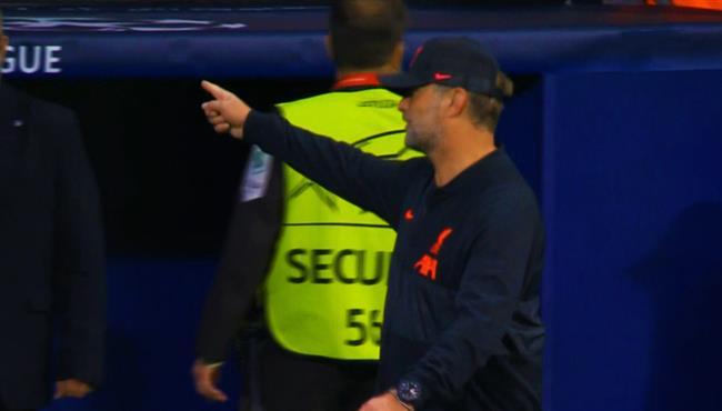 غضب كلوب بعد نهاية مباراة ليفربول واتلتيكو مدريد بسبب سيميوني