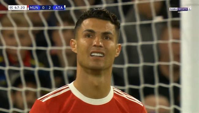 حارس اتالانتا يحرم رونالدو من تسجيل هدف محقق لمانشستر يونايتد