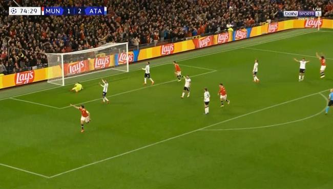 هدف تعادل مانشستر يونايتد مع اتالانتا (2-2) ماجاوير