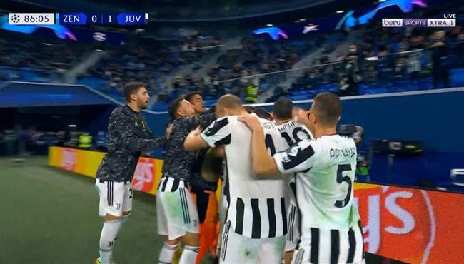 هدف فوز يوفنتوس علي زينيت (1-0) دوري ابطال اوروبا