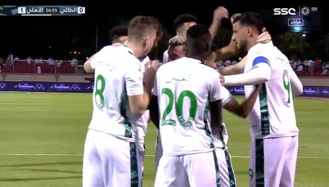 اهداف مباراة الاهلي والطائي (2-1) الدوري السعودي
