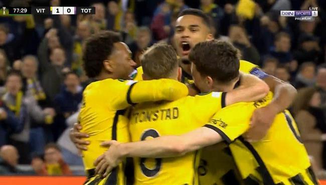 هدف فوز فيتيسه علي توتنهام (1-0) دوري المؤتمر الاوروبي