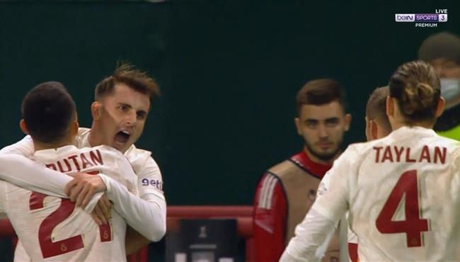 هدف فوز جالطة سراي علي لوكوموتيف موسكو (1-0) الدوري الاوروبي