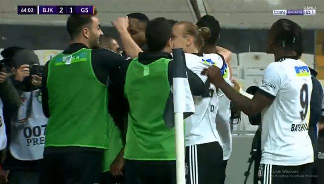 اهداف مباراة جالطة سراي وبشكتاش (1-2) الدوري التركي