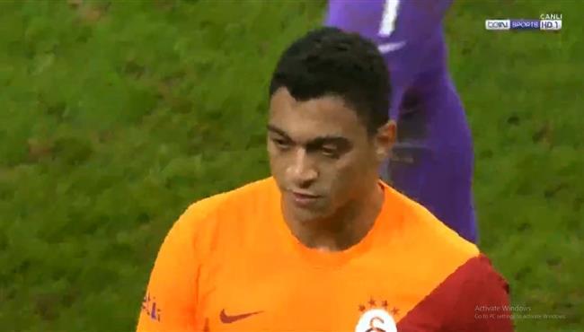 ملخص لمسات مصطفي محمد في مباراة جالطة سراي وبشكتاش بالدوري التركي