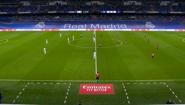 ملخص مباراة ريال مدريد واوساسونا في الدوري الاسباني
