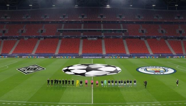 ملخص مباراة مانشستر سيتي وبوروسيا مونشنجلادباخ (2-0) دوري ابطال اوروبا
