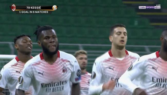 اهداف مباراة ميلان والنجم الاحمر (1-1) الدوري الاوروبي