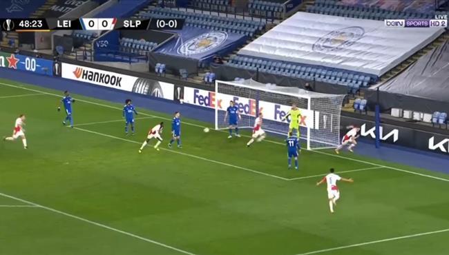 اهداف مباراة ليستر سيتي وسلافيا براج (0-2) الدوري الاوروبي