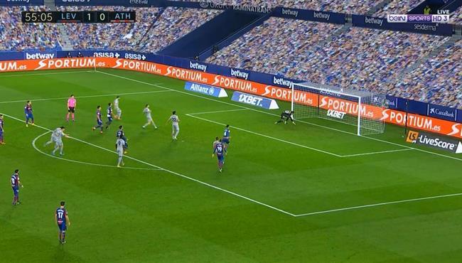 اهداف مباراة اتلتيك بلباو وليفانتي (1-1) الدوري الاسباني