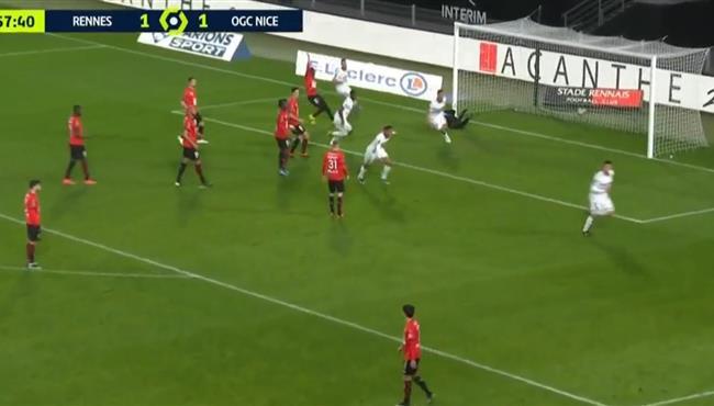 اهداف مباراة نيس ورين (2-1) الدوري الفرنسي