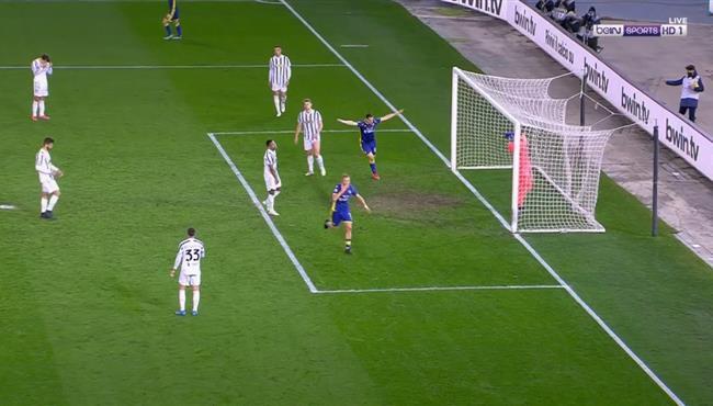 هدف تعادل هيلاس فيرونا مع يوفنتوس (1-1) ورد فعل رونالدو