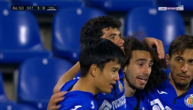 اهداف مباراة خيتافي وفالنسيا (3-0) الدوري الاسباني