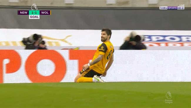 اهداف مباراة ولفرهامبتون ونيوكاسل (1-1) الدوري الانجليزى