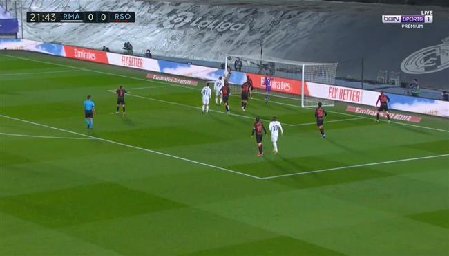 العارصة تحرم ريال مدريد من تسجيل هدف امام ريال سوسيداد