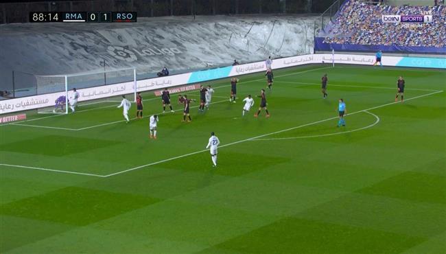 اهداف مباراة ريال مدريد وريال سوسيداد (1-1) الدوري الاسباني
